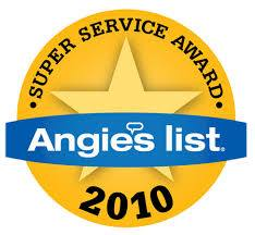 Angie's List 2010- Super Service Award